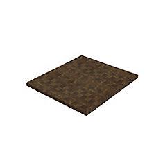 40 inch x 36 inch x 1.5 inch Butcher Block Cutting Boards Brown