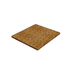 40 inch x 36 inch x 1.5 inch Butcher Block Cutting Boards Golden Teak