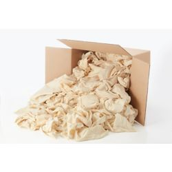 Stain Pro Contractor Pack of Natural Rags - 15 lb box