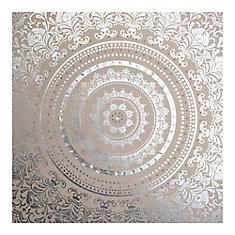 Art Mural en Tissu Cocon Embelli