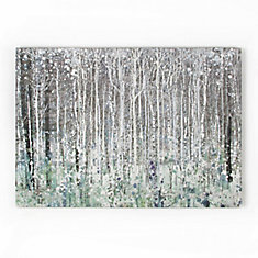 Watercolour Woods Canvas Wall Art