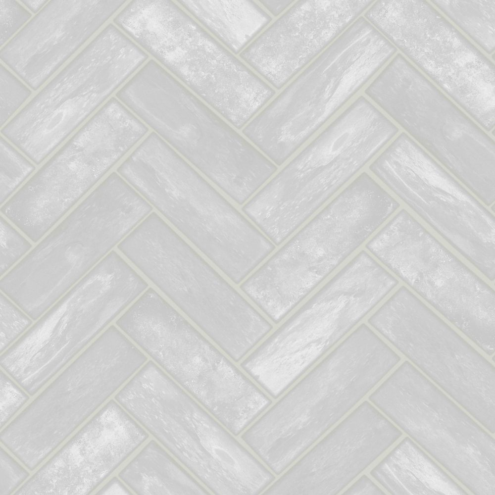 Graham & Brown Lustro Grey Removable Wallpaper Sample