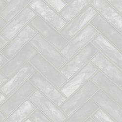 Graham & Brown Lustro Gris - Échantillon de Papier Peint