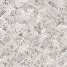 Travertino Taupe Removable Wallpaper Sample