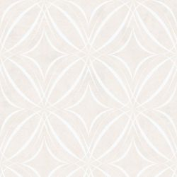Graham & Brown Glitz Geo Taupe/White Removable Wallpaper