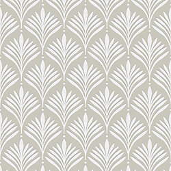 Graham & Brown Bonnie Geo Gold/White Removable Wallpaper