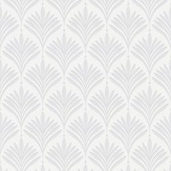 Graham & Brown Bonnie Geo White Removable Wallpaper