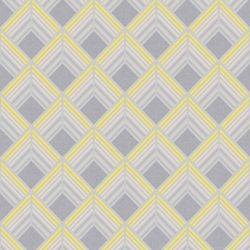 Graham & Brown Trifina Geo Jaune/Gris/Argent Papier Peint Amovible