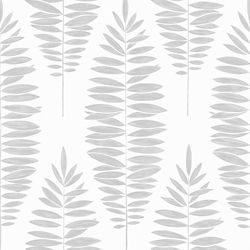 Graham & Brown Lucia White/Silver Removable Wallpaper