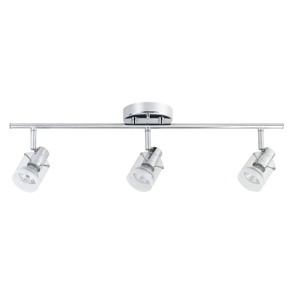 Track lighting led modern industrial more the home depot canada halo 3 light chrome track lighting mozeypictures
