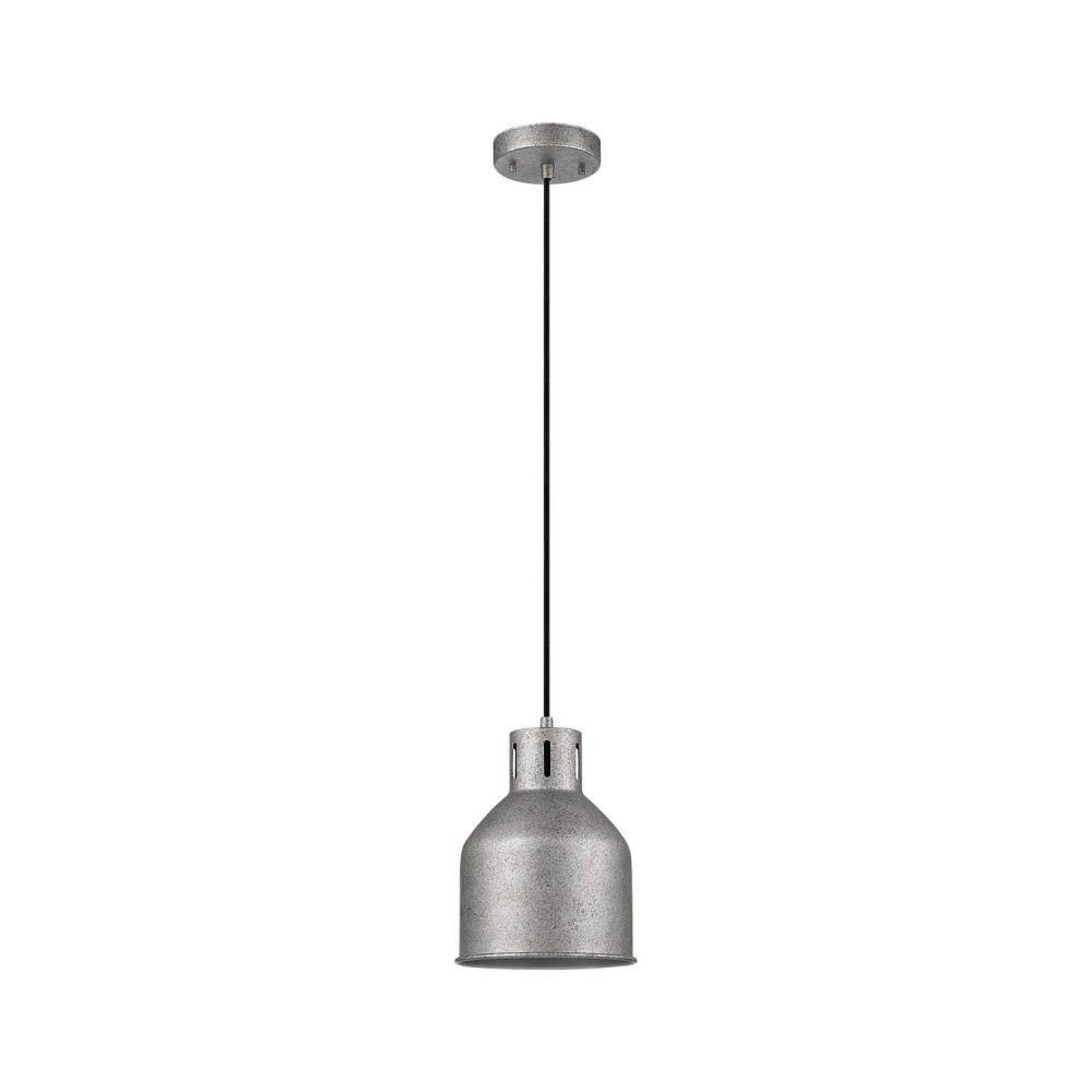 Globe Electric Novogratz Bronn 1-Light Galvanized Pendant