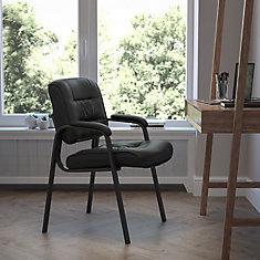 Executive Leather Side Chair