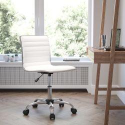 Flash Furniture Chaise de travail à dossier bas