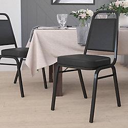 Flash Furniture Trapezoidal Back Banquet Chair