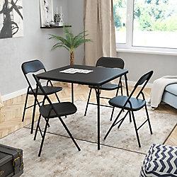 Flash Furniture Ensemble de table à carte pliante 5pièces