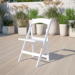 Flash Furniture Chaise pliante en résine