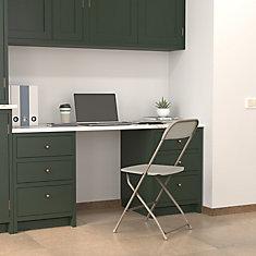 Premium Heavy-Duty Plastic Folding Chair with Steel Frame