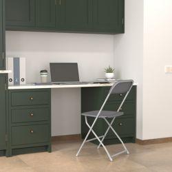 Flash Furniture Chaise pliante en plastique
