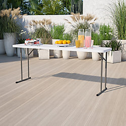 Flash Furniture Table de formation pliante de 45,72cm x 182,88cm (18po x 72po)
