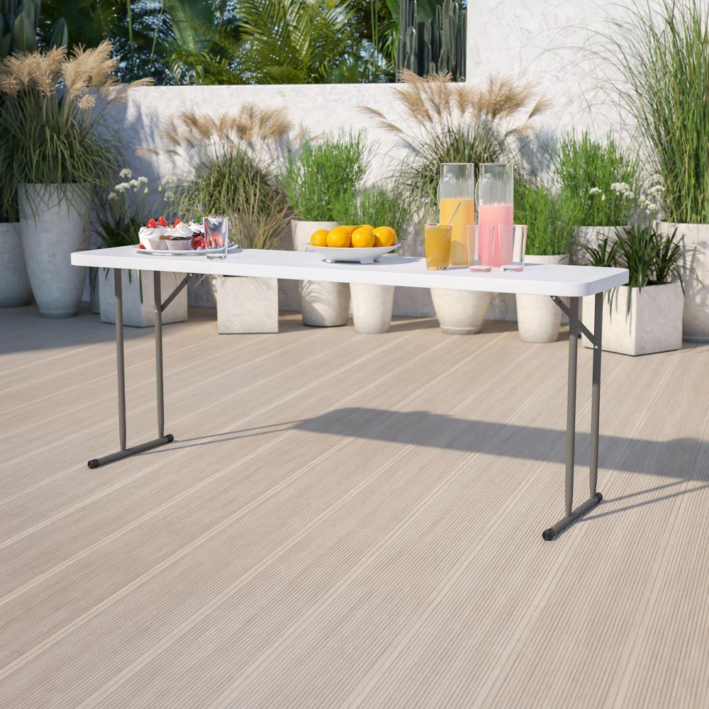 Flash Furniture 18x72 Folding Training Table