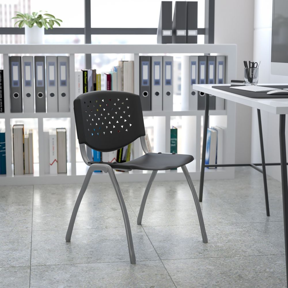 Flash Furniture Plastic Stack Chair