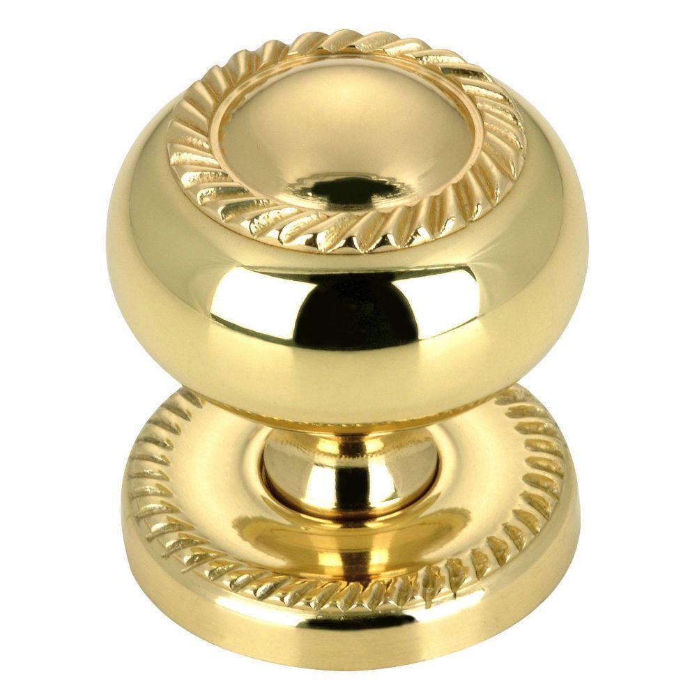 Richelieu Functional Brass Knob - 8049