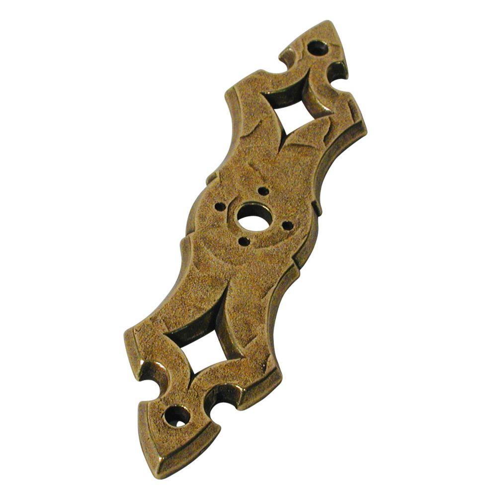 Richelieu Traditional Metal Back plate for Knob - 820