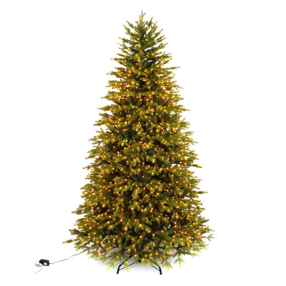 7.5 ft. LED Pre-Lit Aspen Fir Tree