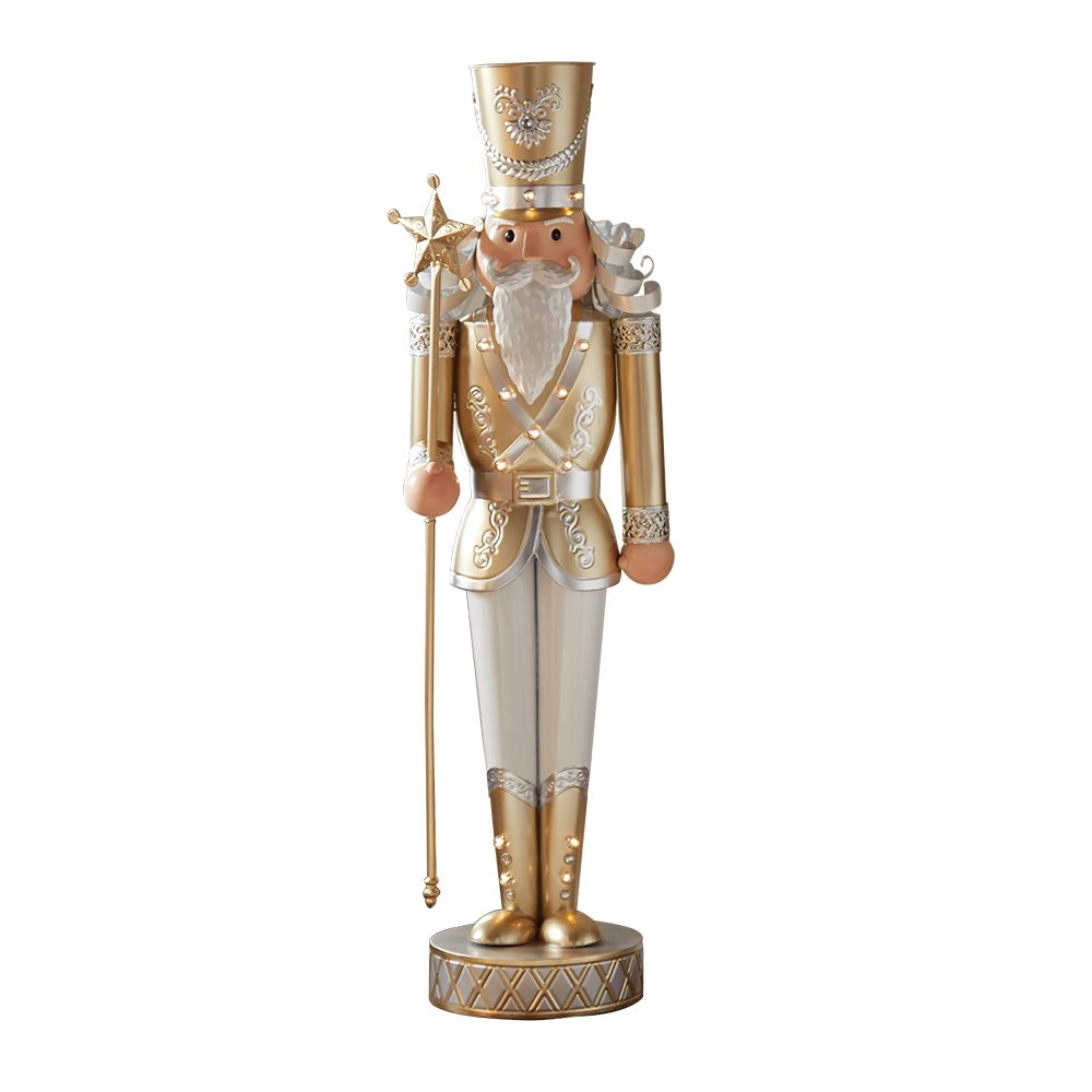 Home 4 ft. Nutcracker Figure Christmas Decoration