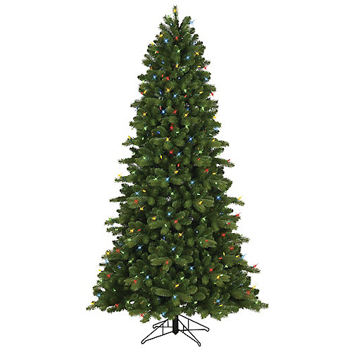 7.5 ft. 400 Dual Colour LED-Lit Colarado Spruce Christmas Tree