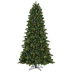 7.5 ft. 400 Dual Colour LED-Lit Colarado Spruce Christmas Tree
