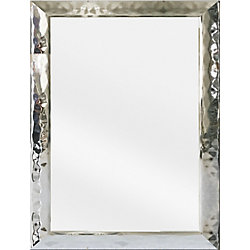 Tangerine Mirror Co Hudson 24-inch x 36-inch Chrome Vanity Mirror
