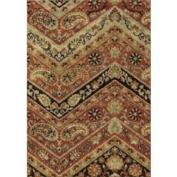 Orian Rugs Paisley Point Rouge 7 ft. 10-inch x 10 ft. 10-inch Indoor Area Rug