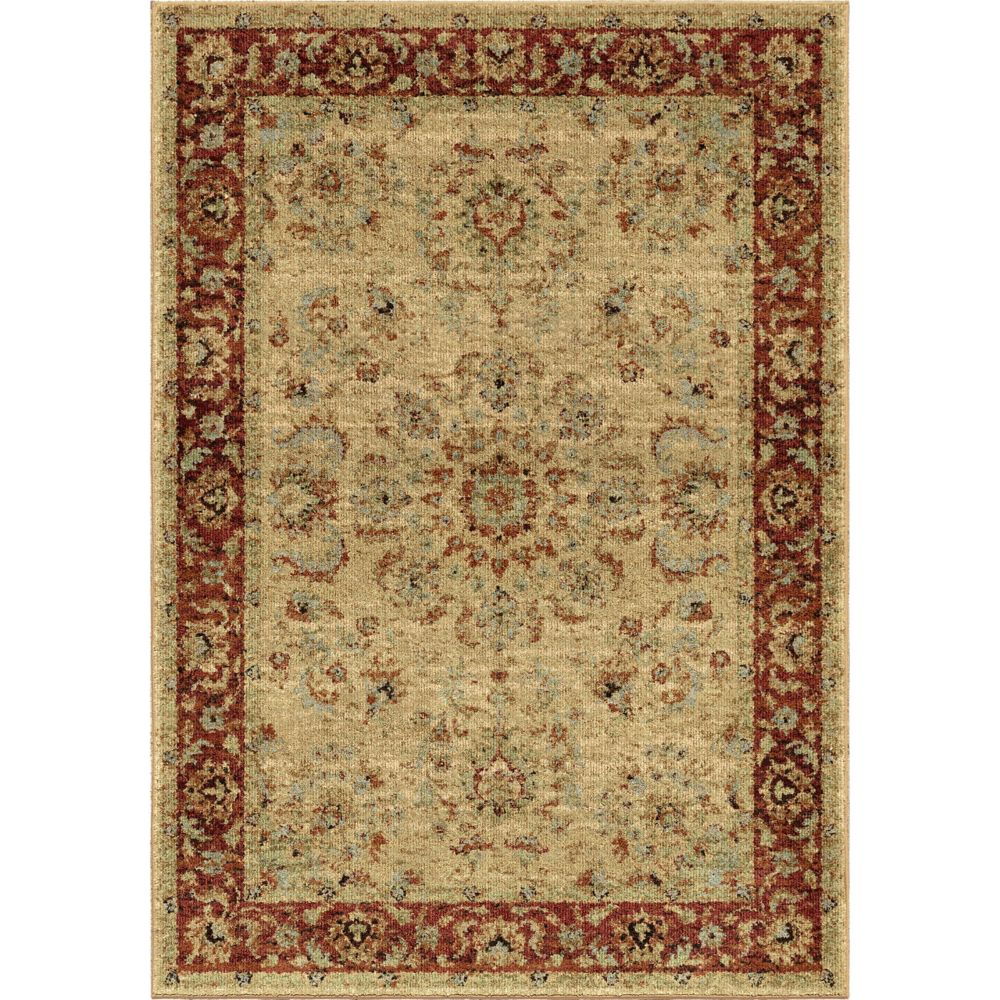 Orian Rugs Patterson Charcoal: Orian Rugs Promenade White 7 Ft. 10-inch X 10 Ft. 10-inch