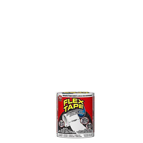 Flex Tape 4 inch x 5 ft. Tape in White