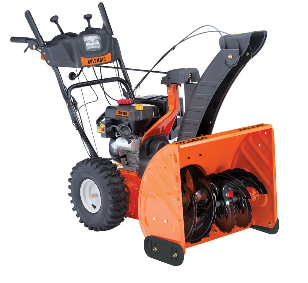 Columbia 28-inch Two-Stage Snow Blower