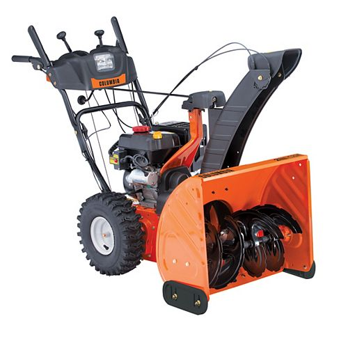 Columbia 24-inch 243cc Two-Stage Snowblower