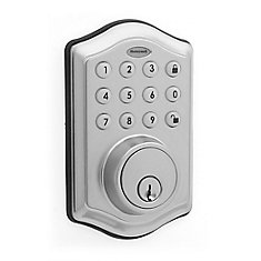 Satin Nickel Keyless Entry Digital Deadbolt