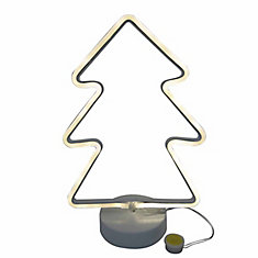 Neon Christmas Tree-Shaped Light Decoration