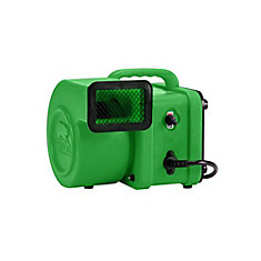 1/4 HP 375 CFM Mini Air Mover Green
