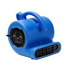 1/4 HP 900 CFM Air Mover Blue