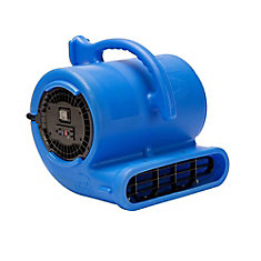 1/3 HP 2530 CFM Air Mover Blue