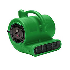1/3 HP 2530 CFM Air Mover Green