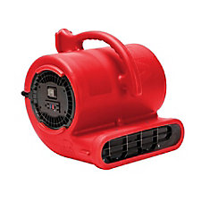 1/3 HP 2530 CFM Air Mover Red