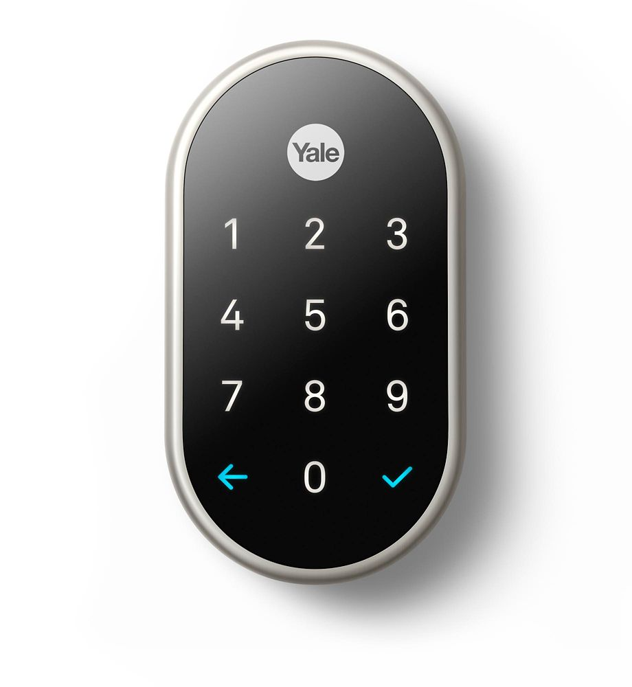 Yale Nest x Smart Lock in Satin Nickel YRD540-WV-619