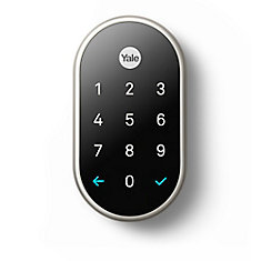 Nest x Yale Smart Lock in Satin Nickel