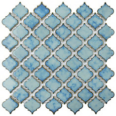 Hudson Tangier Marine 12-3/8-inch x 12-1/2-inch x 5 mm Porcelain Mosaic Tile (10.96 sq. ft. / case)
