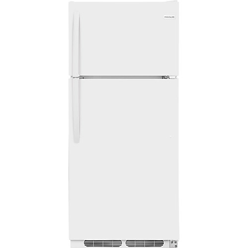 16.3 cu. ft. Top Mount Refrigerator in White