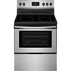 30-inch 4.9 cu. ft. Freestanding Electric Range in Stainless Steel