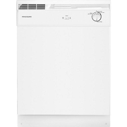 Lave-vaisselle à cuve haute à commande frontale de 24 po en blanc - ENERGY STAR®